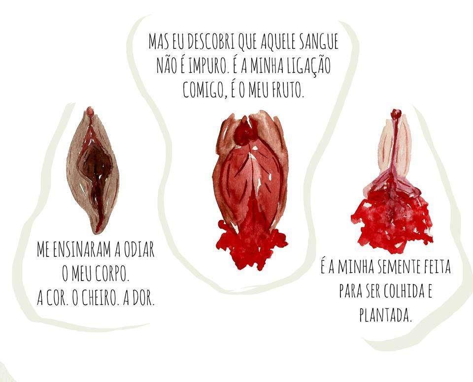 Menstruação é o sangue da vida!